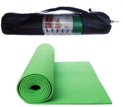 Palakz Zippered Cover Mat For Yoga Green 6 mm