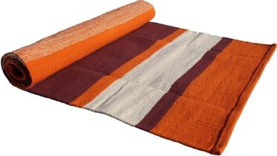 Tapas Yoga Rug Exercise & Gym Orange Stripe 10 mm