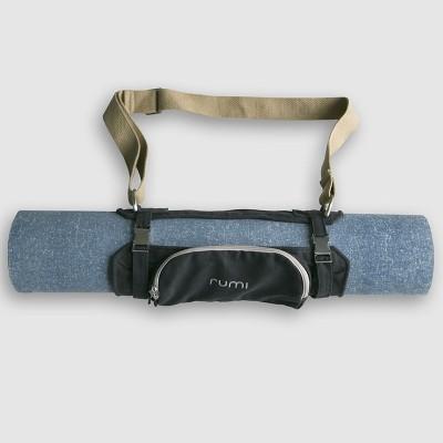 Rumi Origami-Dark Grey Multicolor 2 mm Yoga, Exercise & Gym Mat