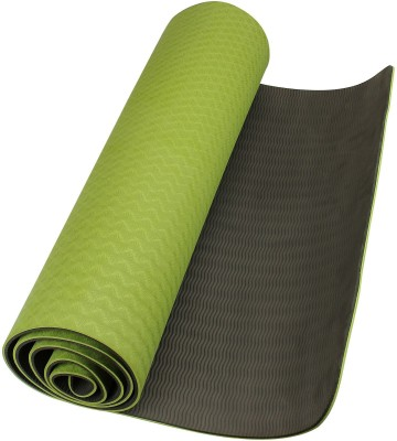 Neo Gold Leaf Eco Friendlt Tpe Yogamat 06 Yoga Green, Black 6 mm