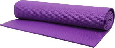Pasricha Sports And Fitness Anti Skid Yoga Purple 6 mm