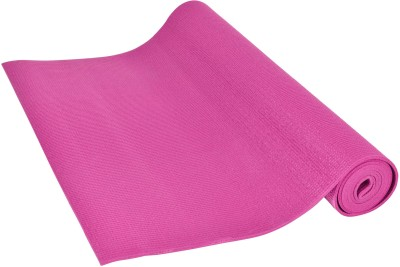 AmazingHind Mat with cover Exercise & Gym, Yoga Pink 4 mm