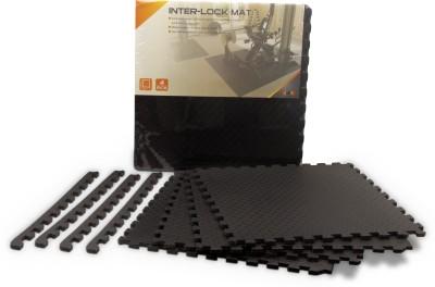 Burn Inter Lock Mat Equipment, Exercise & Gym, Gymnastic, Yoga Black 13 mm