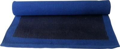 LifestyleYogaStudio Sticky Natural Mat Yoga Blue 4 mm