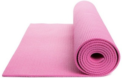 Shiv Fabs Best Quality Mat 4mm Yoga Pink 4 mm