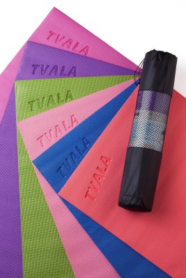 Tvala YM Yoga, Exercise & Gym Blues, Pink, Green, Red, Purple, Dark Pink 4 mm