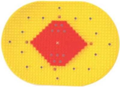 Acs Mat Bumper Golf Yellow 4 mm