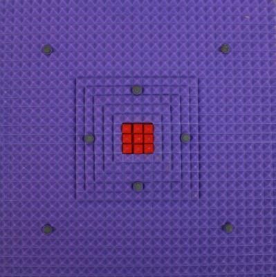Acs 8 Magnet Pyramid Yoga Multicolor 3 mm
