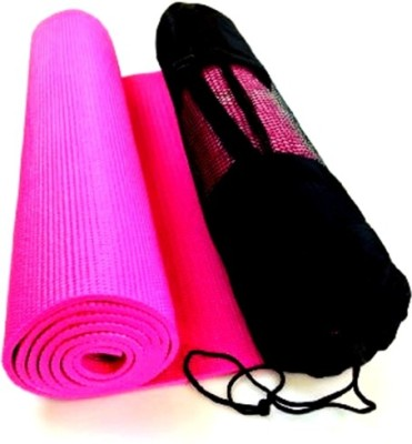 Palakz Zipper Cover Mat For Yoga Pink 6 mm