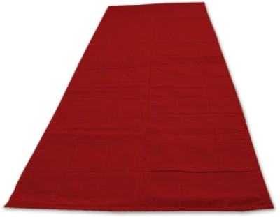 Lnt 400TC Portable and Washable mat Solid Yoga Red 1 mm