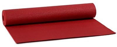 Yogimat Basic Fire Yoga Red 4 mm