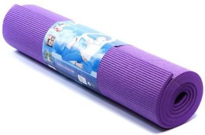 shivamconcepts mat + bag Yoga Purple 4 mm