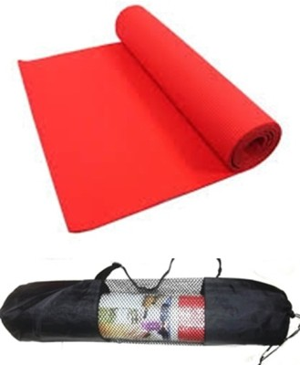 Palakz Zipper Cover Mat For Yoga Red 6 mm