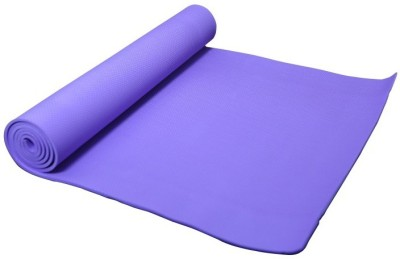 B Fit Usa Mat Yoga, Exercise & Gym Purple 6 mm