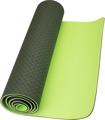 Neo Gold Leaf Eco Friendlt Tpe Yogamat 03 Yoga Gray, Green 6 mm