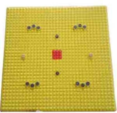 Acs Matal Golf Yellow 2 mm