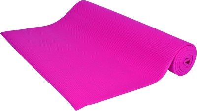 AmazingHind Mat Exercise & Gym, Yoga Pink 6 mm