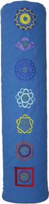 Tapas Yoga Mat Bag, Seven Chakra embroidery Exercise & Gym Blue 0 mm