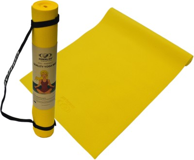 Cougar Yoga Mat 6mm Yoga Yellow, Blue, Red, Purple, Green 0.6 mm