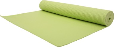 Relax Fitness Mat-4mm Exercise & Gym, Yoga Parrot Green 4 mm