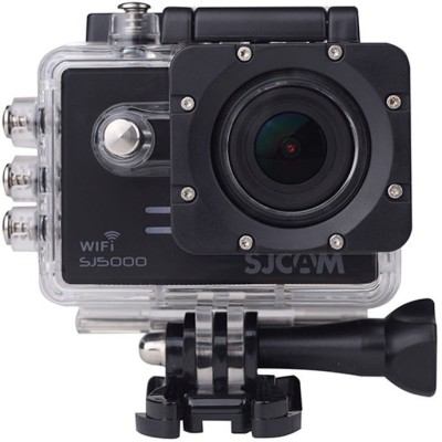 Mobilegear Powershot SJCAM SJ5000 14 MP WiFi 1080P Full HD Waterproof Digital Camcorder With Video & Photo Lapse Sports and Action Camera