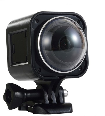 Shrih Action Waterproof 360 Full-View Remote Sports and Action Camera(Black 12.4 MP)