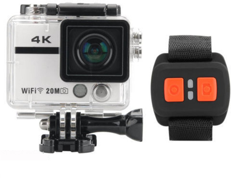 Astra 4k Camera Ultra hd 3840 Sports and Action Camera(Silver 12 MP)