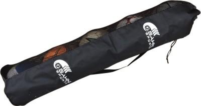 Sahni Sports Tubular Sports Ball Bag(Black)