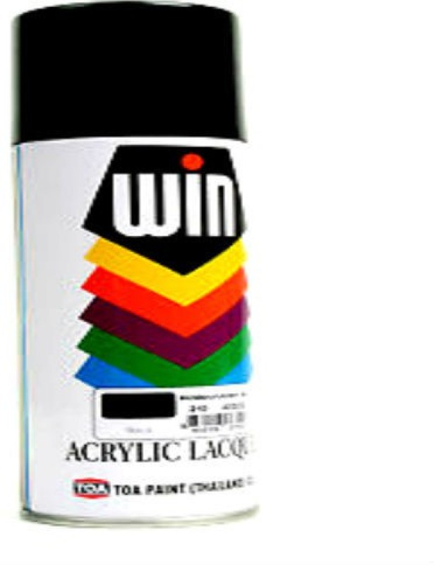 Paint bazar zero black Spray Paint 400 ml(Pack of 1)