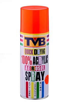 TVB F2 Fluorescent Red Spray Paint 400 ml