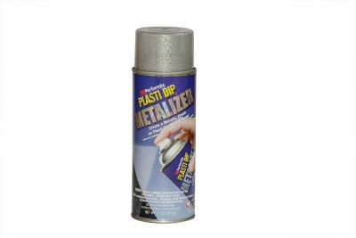 Performix Plasti Dip Multi Purpose Rubber Coating Bright Aluminium Metalizer Spray Paint 325 ml