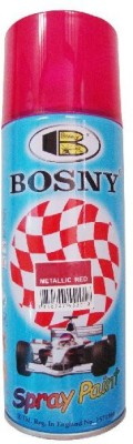 Bosny Blazon Metallic Red Spray Paint 300 ml