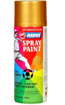Abro Premium Sparkle Gold Spray Paint 400 ml