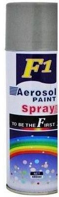 F1 SILVER GREY Spray Paint 450 ml