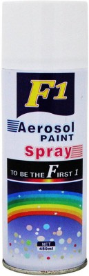 F1 White Spray Paint 450 ml(Pack of 1)