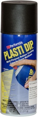 Performix Plasti Dip Multi Purpose Rubber Coating Black Matte Spray Paint 325 ml