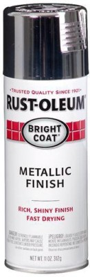 Rust-Oleum Stops Rust Bright Coat Chrome Spray Paint 312 ml