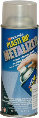 Performix Plasti Dip Multi Purpose Rubber Coating Silver Metalizer Spray Paint 325 ml