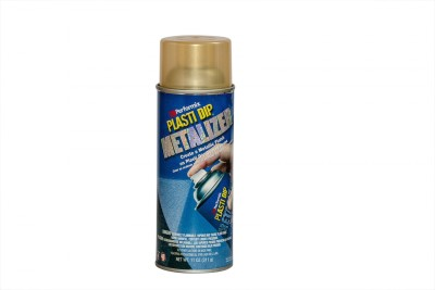 Performix Plasti Dip Multi Purpose Rubber Coating Gold Metalizer Spray Paint 325 ml