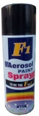 F1 Black Shine Spray Paint 450 ml