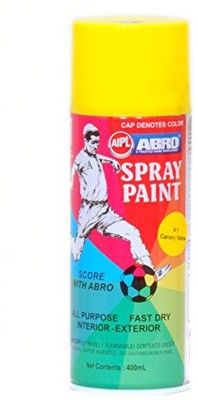 Abro CANARY YELLOW Spray Paint 400 ml