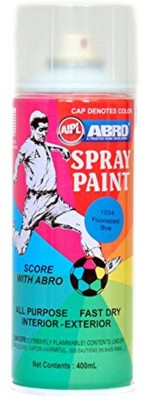 Abro FLUORESCENT BLUE Spray Paint 400 ml