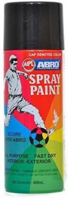 Abro MATT BLACK Spray Paint 400 ml