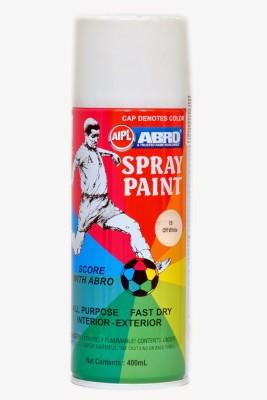 Abro Premium OFF White Spray Paint 400 ml