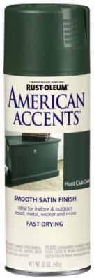 Rust-Oleum American Accents Hunt Club Green Spray Paint 340 ml