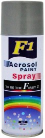 F1 Silver Spray Paint 450 ml(Pack of 1)
