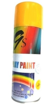 GS YELLOW Spray Paint 400 ml(Pack of 1)