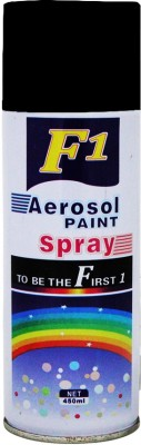 F1 Black Spray Paint 450 ml