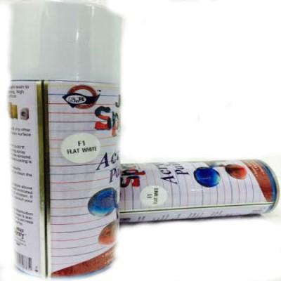 KUBER STORES F1 White Spray Paint 400 ml