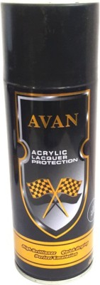 Avan Gloss Black Spray Paint 450 ml